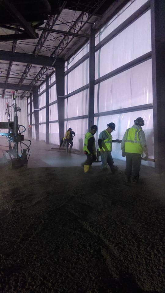 Commercial and Industrial Concrete Installation Services