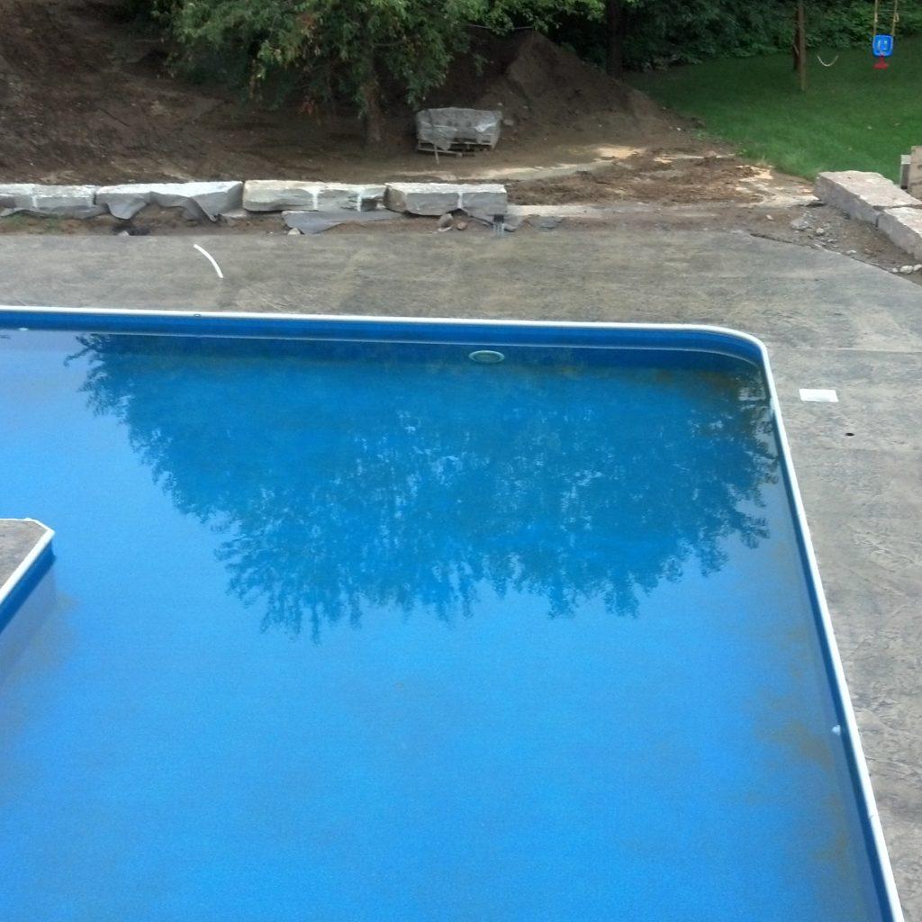 Residential Pool & Patio Concrete Installation