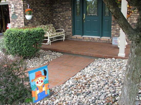 Residential Entryway Concrete Services