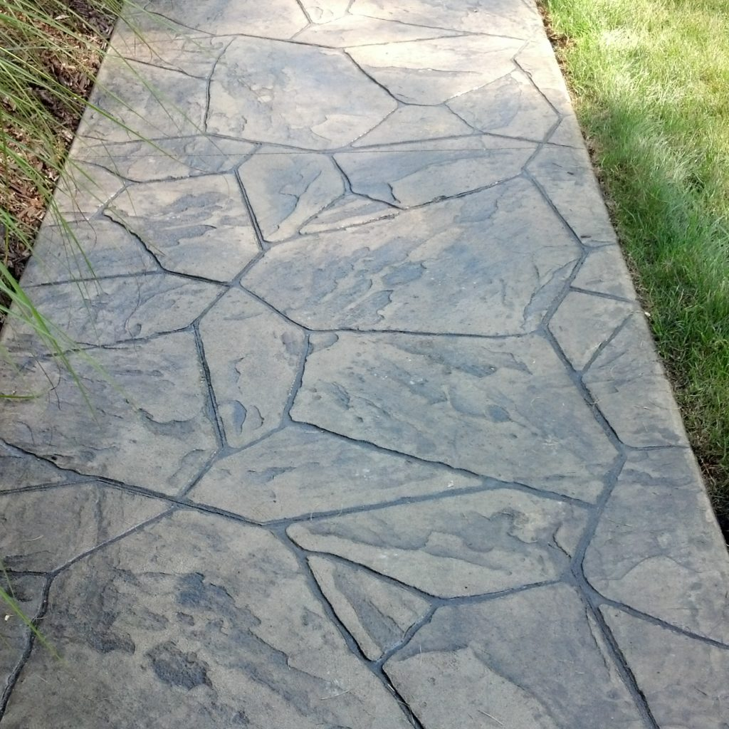 Residential Decorative Overlay & Stamped Concrete