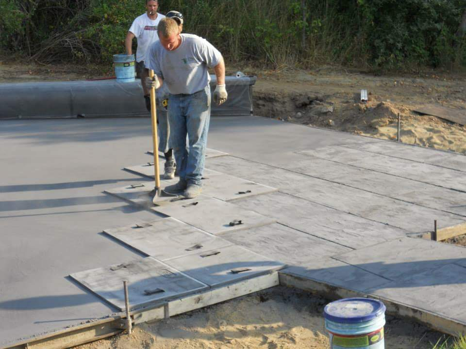 Residential Concrete Foundation Install