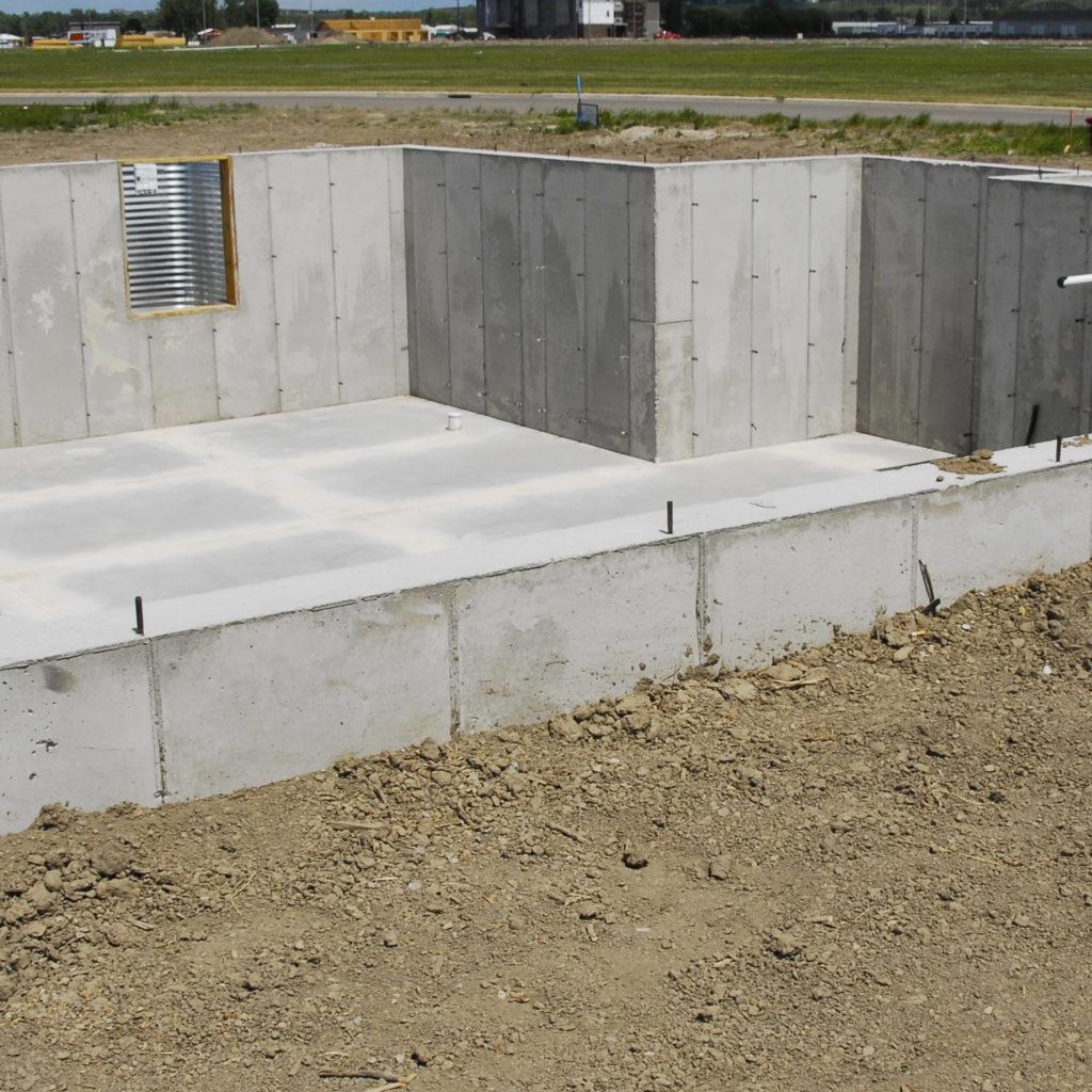 Residential Basement Walls
