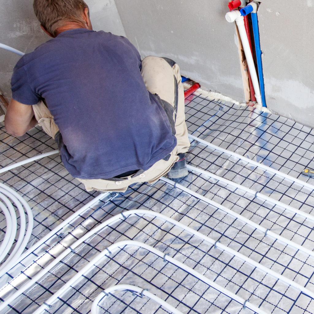 Concrete Floor Heating